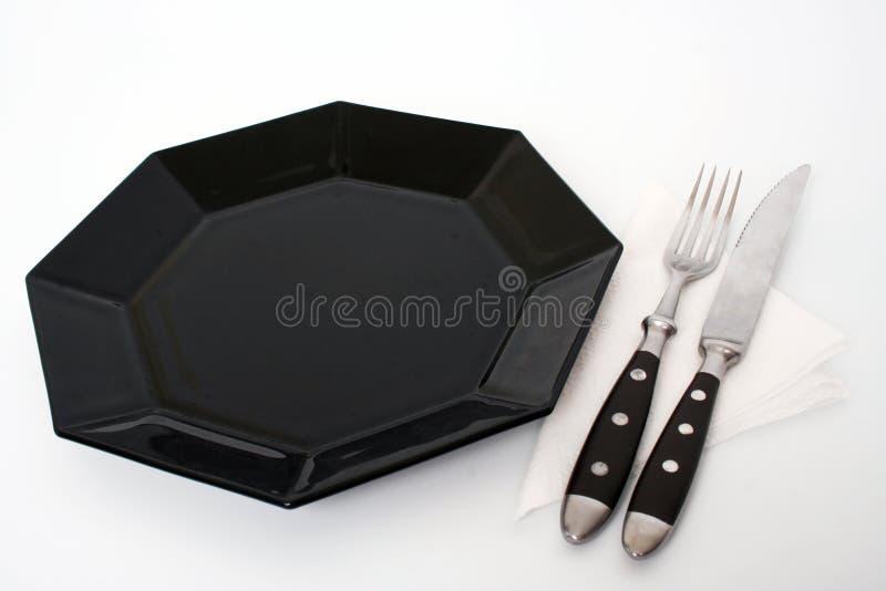 2顿正餐等待 免版税库存照片