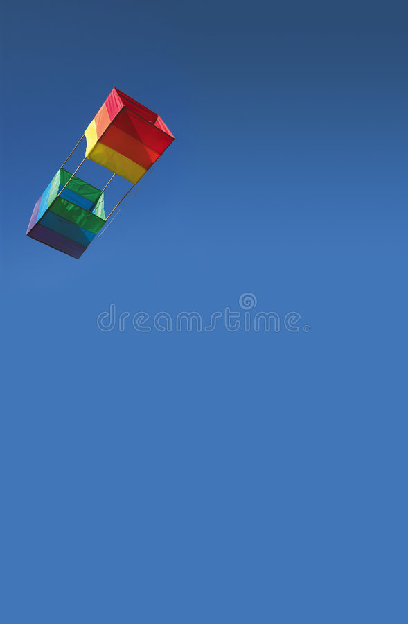 2风筝 免版税图库摄影
