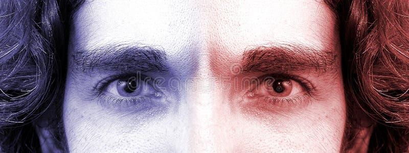 Download 2 ögon arkivfoto. Bild av gör, sikt, ögonkast, elev, green - 30036