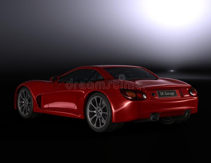 2 överkant för sportar src7 för bil hård vektor illustrationer