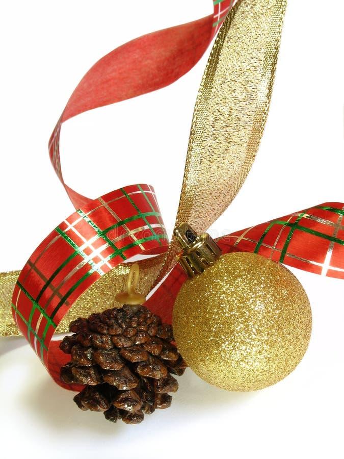 2 święta ornamentu obrazy stock