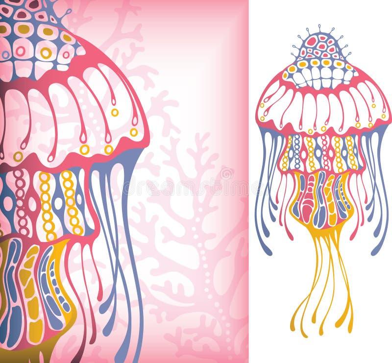 2 żyć morze ilustracji