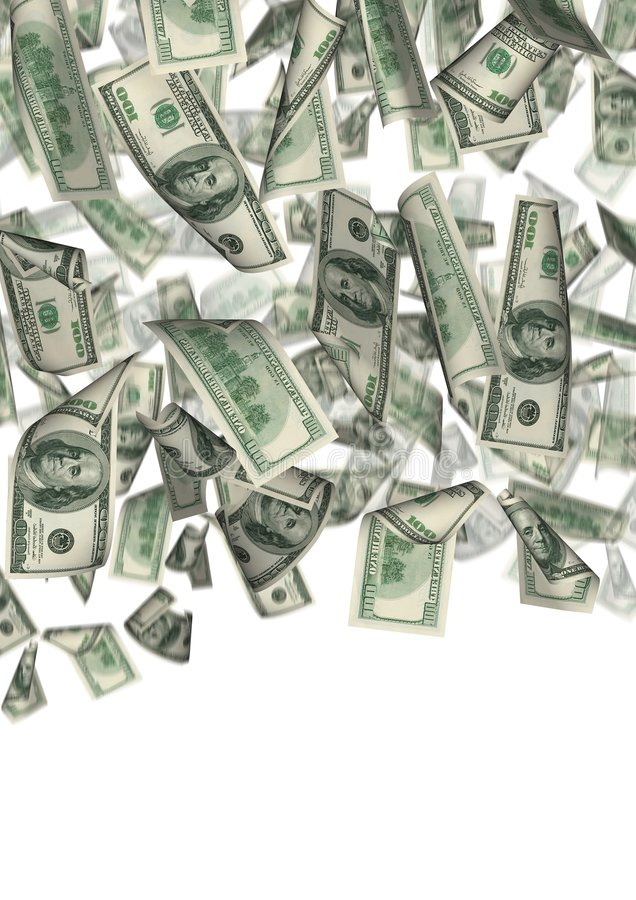 2 απομονωμένη δολάριο βρο&ch ελεύθερη απεικόνιση δικαιώματος