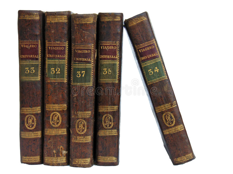 2 βιβλία παλαιά στοκ εικόνα