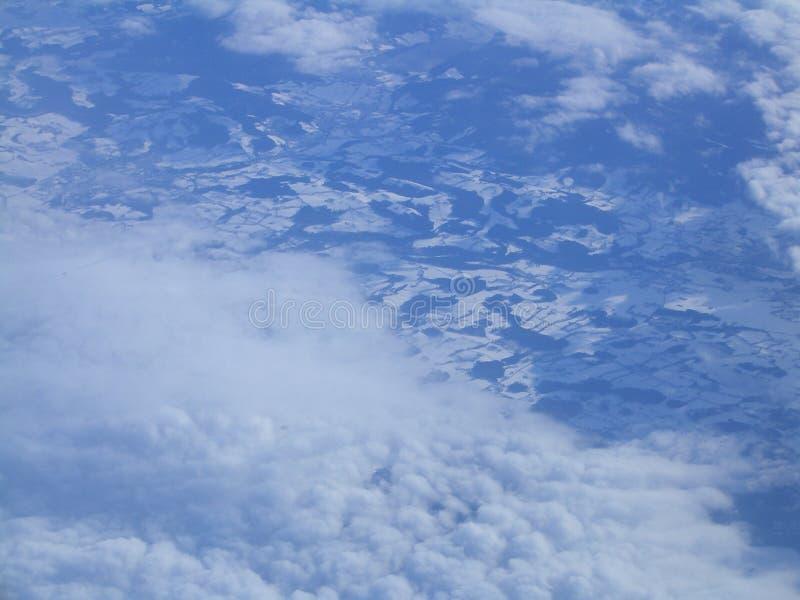 2 βουνά ουρανού στοκ φωτογραφίες με δικαίωμα ελεύθερης χρήσης