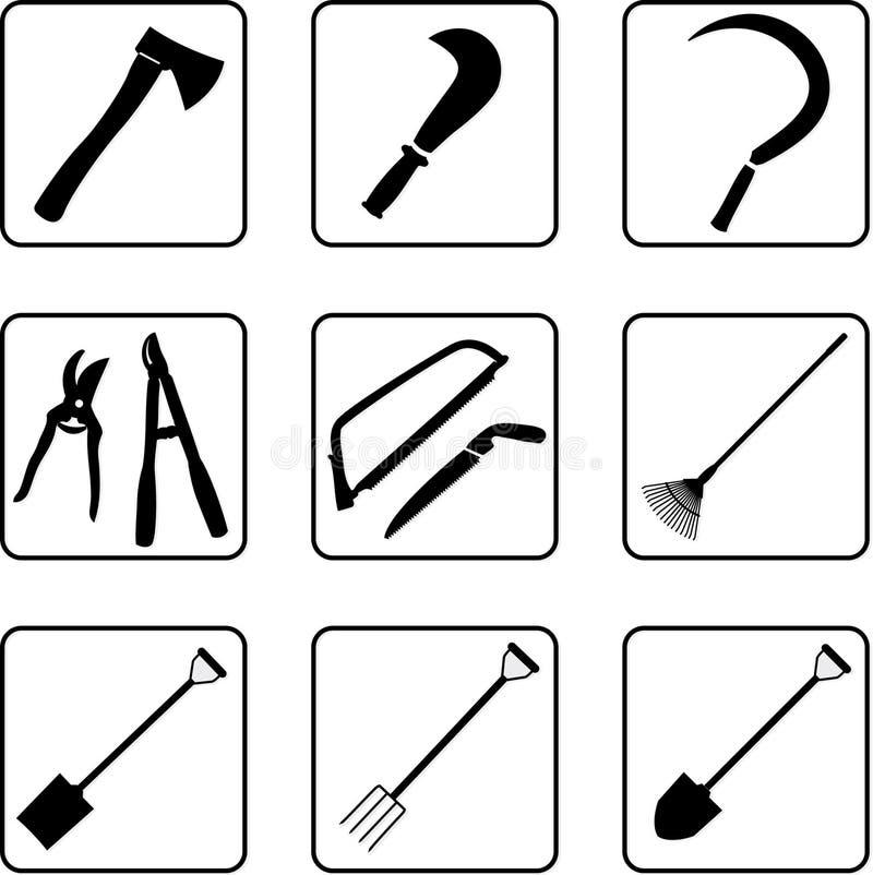 2 εργαλεία κηπουρικής