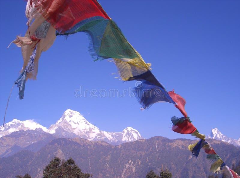 2 θέες του Νεπάλ στοκ εικόνες