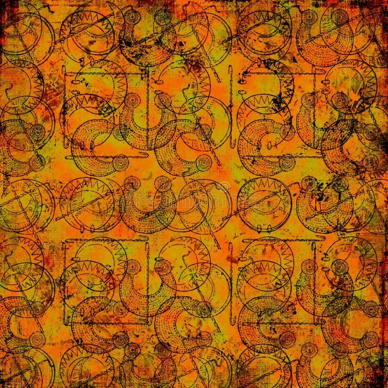 2 κελτικά druid ανασκόπησης βρώ&mu ελεύθερη απεικόνιση δικαιώματος