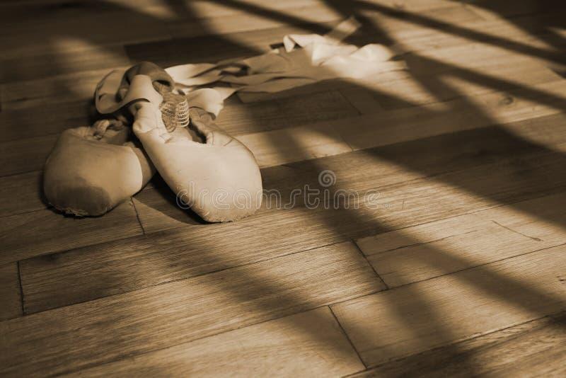 2 παπούτσια pointe στοκ φωτογραφία με δικαίωμα ελεύθερης χρήσης