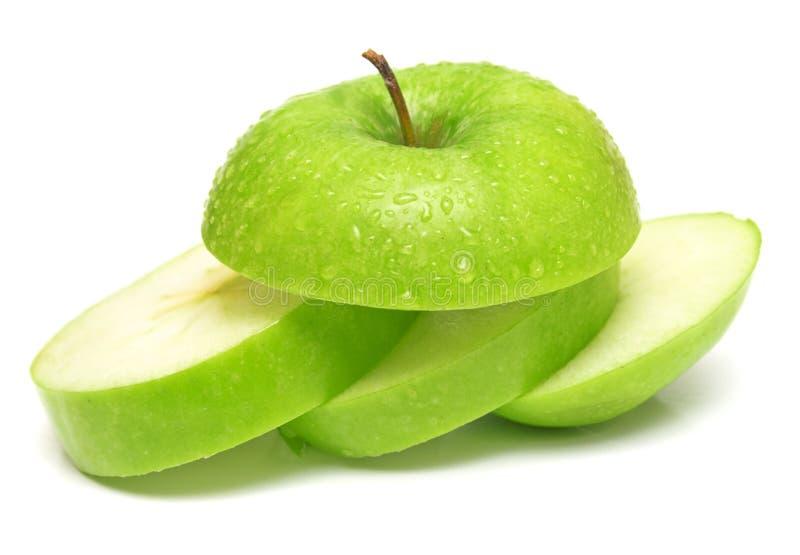 2 πράσινο μήλου στοκ εικόνες με δικαίωμα ελεύθερης χρήσης