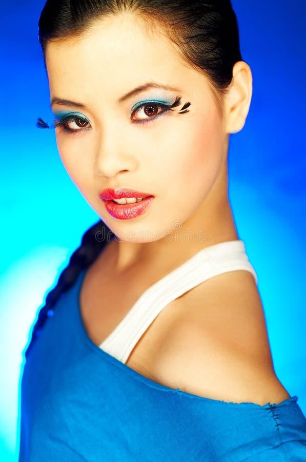 2 τεχνητά eyelashes στοκ εικόνα