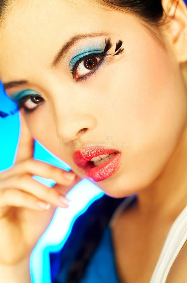 2 τεχνητά eyelashes στοκ φωτογραφία