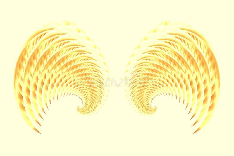 2 φτερά νεράιδων πουλιών αγ&g διανυσματική απεικόνιση