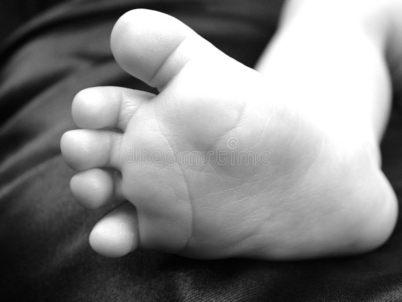 2 όμορφα toe lil αστράφτουν στοκ εικόνα με δικαίωμα ελεύθερης χρήσης