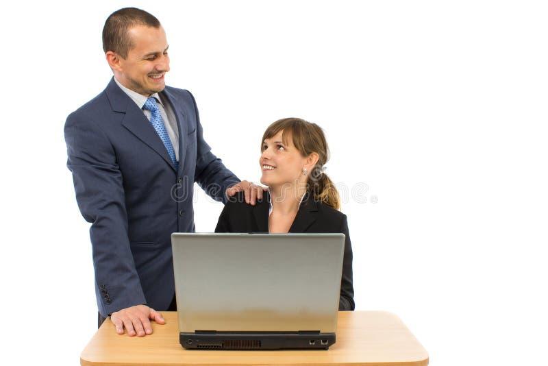 2 бизнесмены стоковые фото