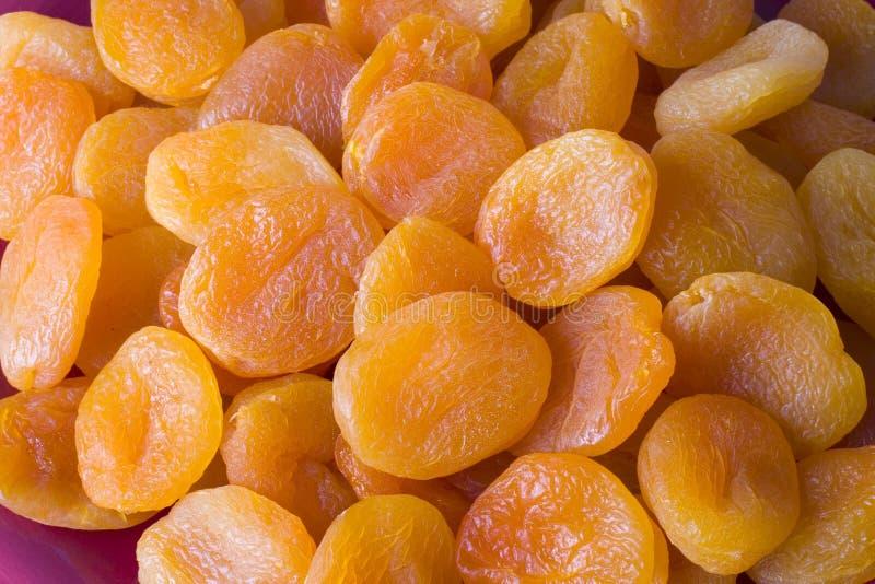 2 высушенного абрикоса Стоковое Изображение