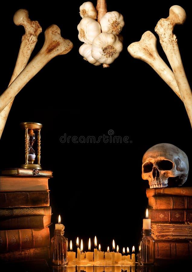 2 граница halloween стоковое фото rf