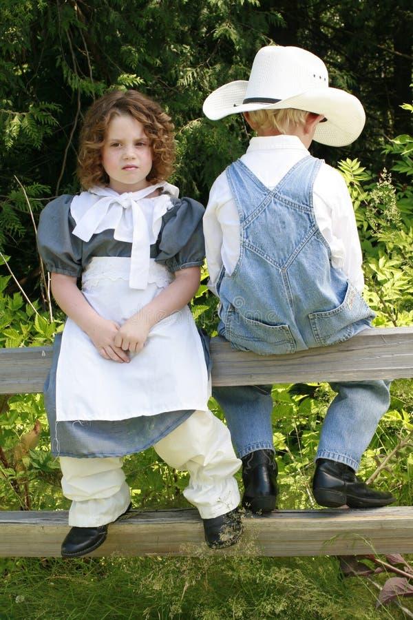 2 детеныша пар стоковое изображение