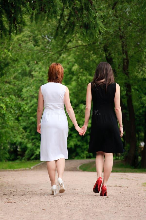 2 женщины Стоковое фото RF