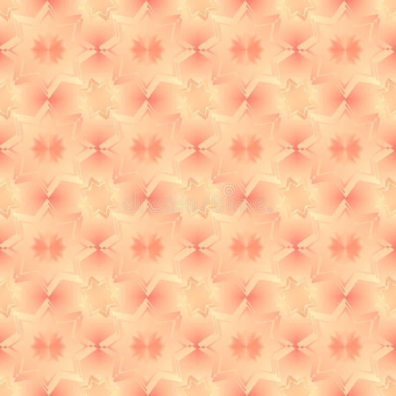 2 звезды предпосылки иллюстрация вектора