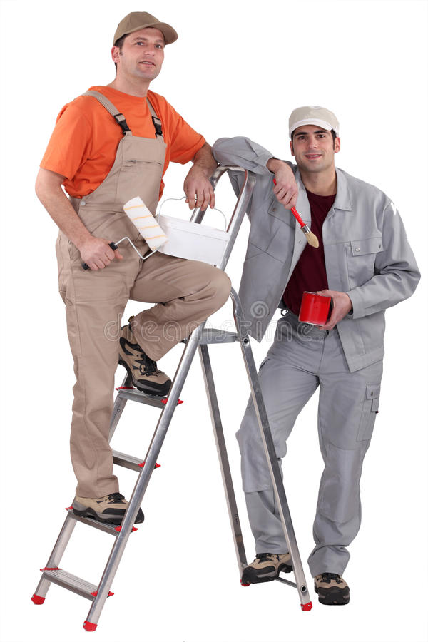 2 колеривщика стоковое фото
