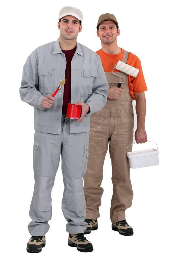 2 колеривщика стоковые фото