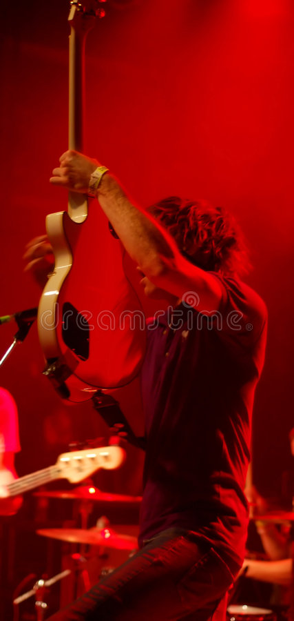 2 красных rockstar стоковые изображения