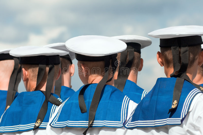 2 моряка стоковое изображение rf
