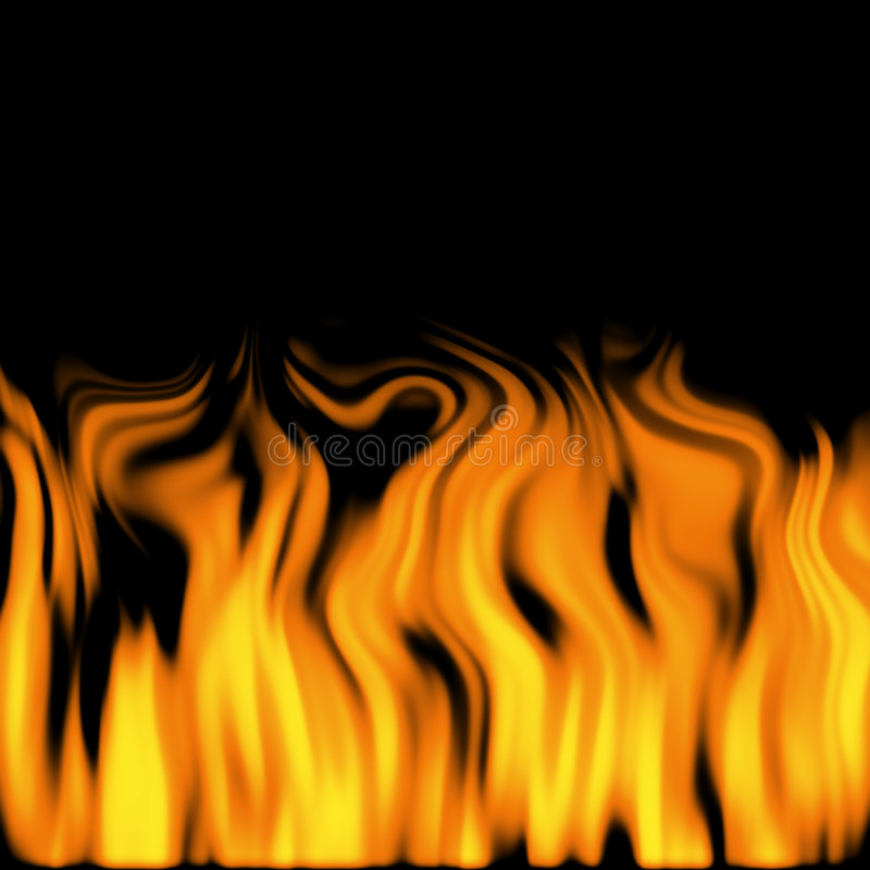 2 пламени стоковое фото