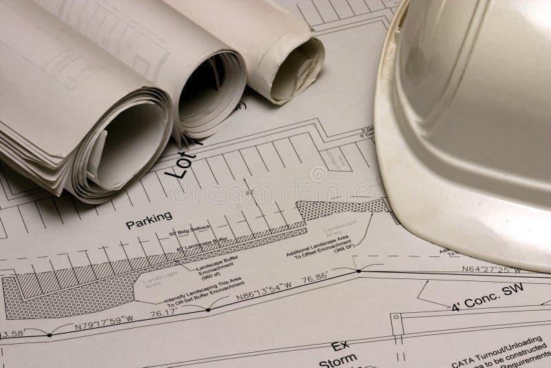 2 плана строительства стоковые фотографии rf