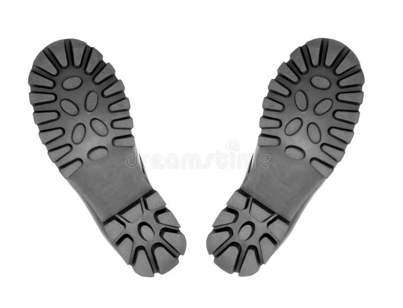 2 подошвы ботинка стоковое изображение rf