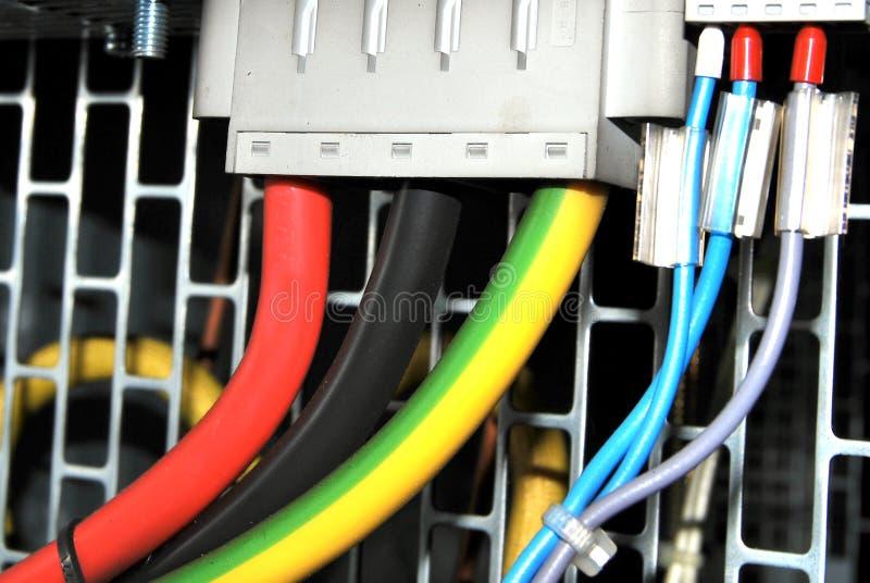 2 соединенных провода стоковая фотография