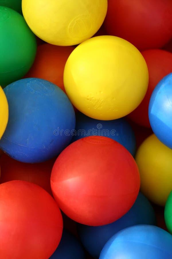 2 шарика покрасили стоковая фотография rf