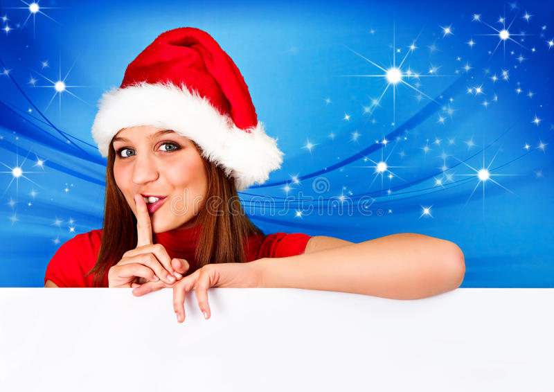 2 04 missis圣诞老人 免版税库存图片