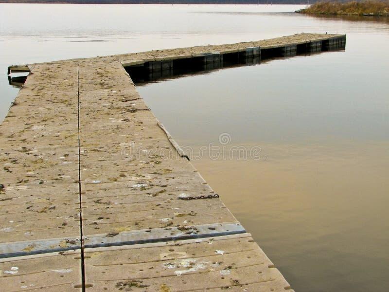 2 13个湖码头 免版税库存照片
