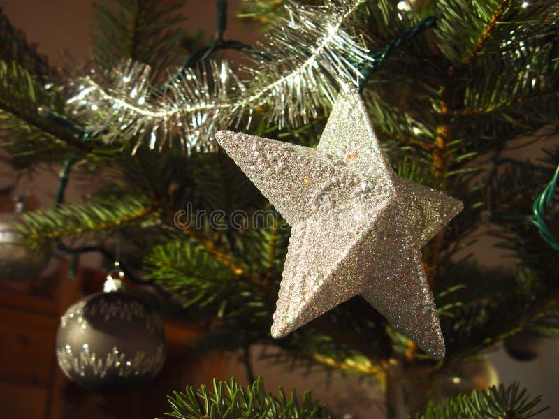 2圣诞节星形 库存照片