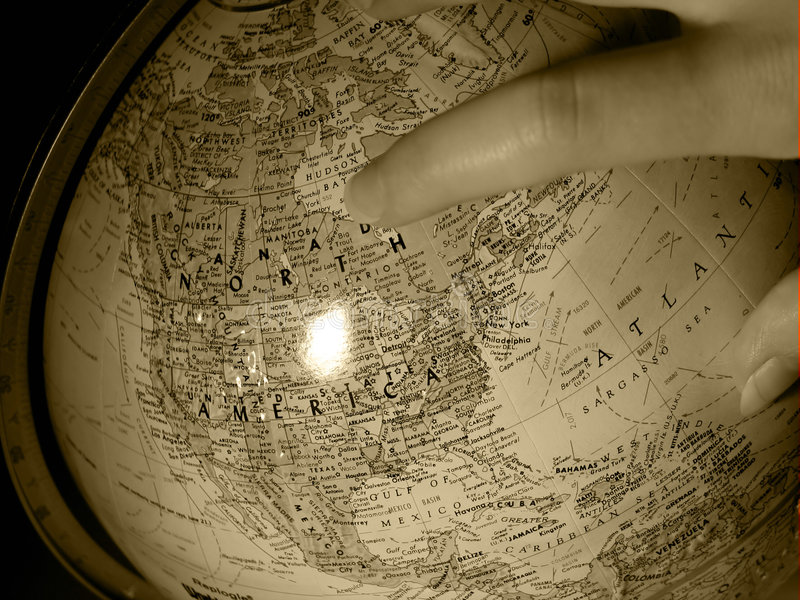 2地球研究 免版税库存图片