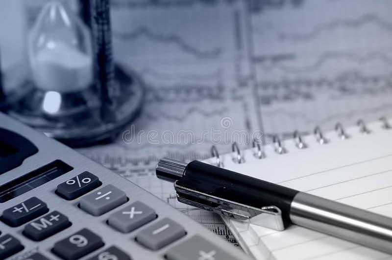 2市场规定期限 免版税库存照片