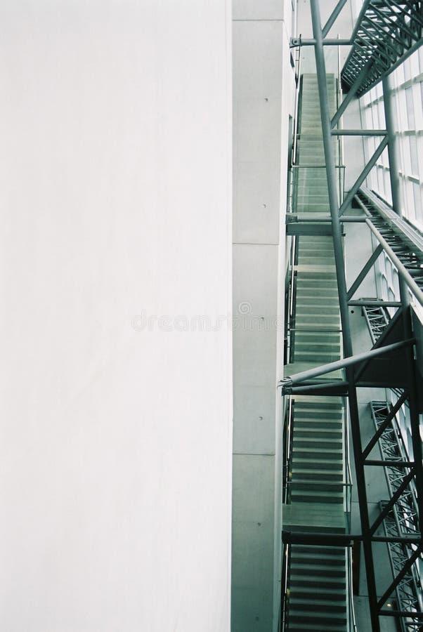 2楼梯 免版税库存照片