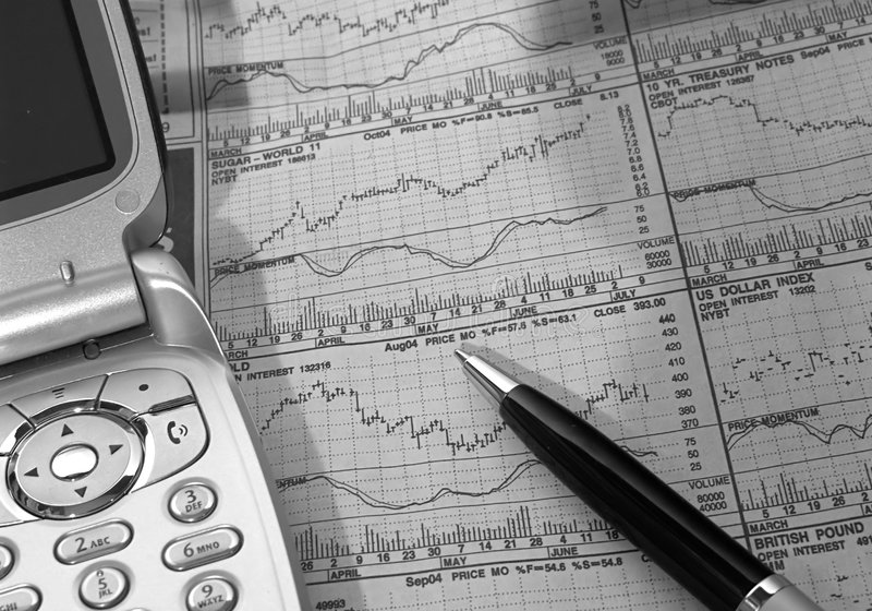 2研究股票 免版税库存图片