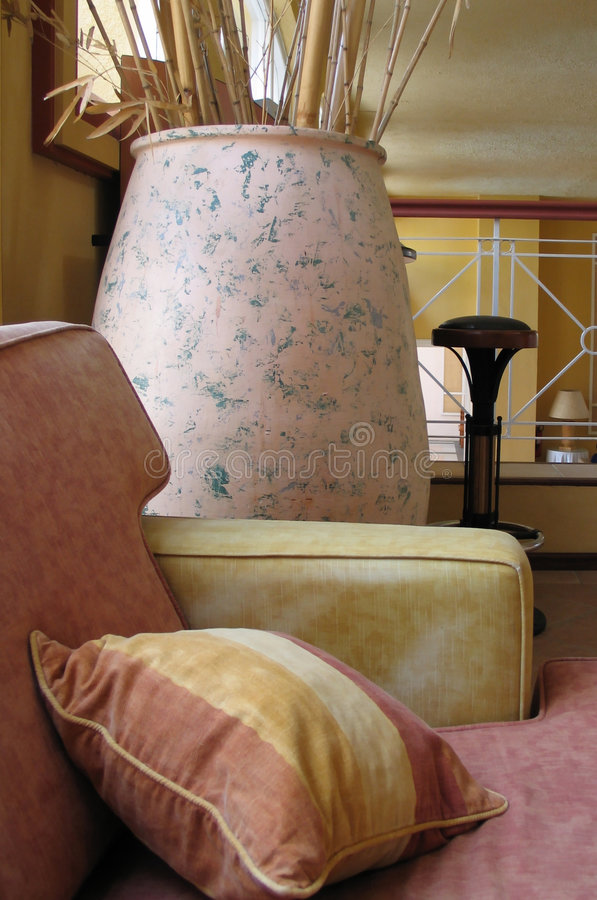 2装饰大厅 库存照片