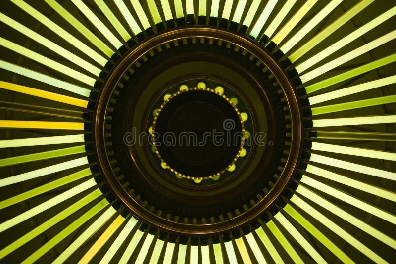 2 abstrakcjonistycznego światła obrazy stock