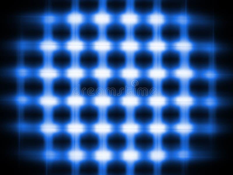 2 abstraktów niebieski tła światło ilustracji