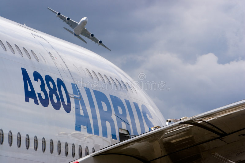 Download 2 Airbus A380 Editorial Photo - Image: 5079581