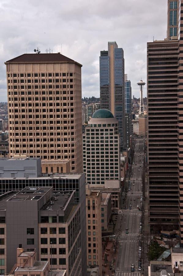 2. Allee Seattle lizenzfreies stockbild
