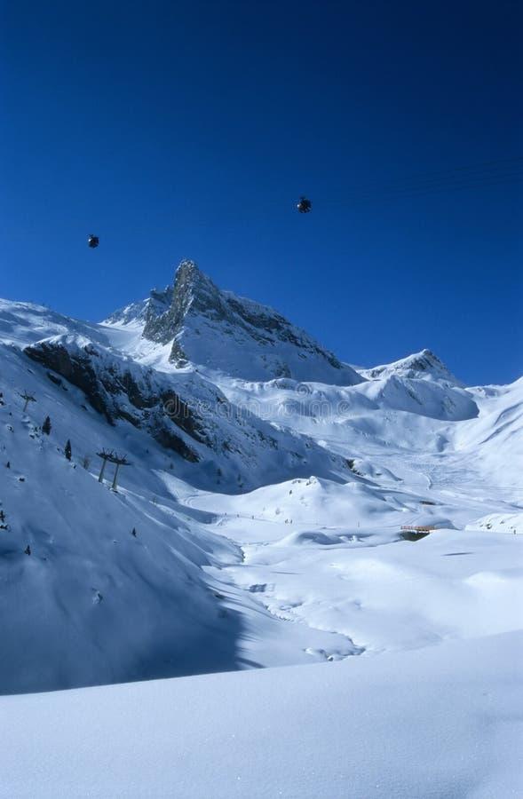 2 alps австрийского стоковое фото rf