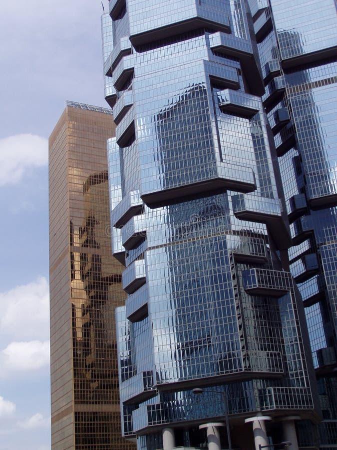 2 Architektur Hong Kongu. Zdjęcia Stock