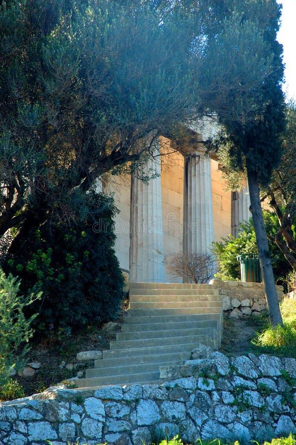 2 Athens Greece świątyni hephaestus obraz royalty free