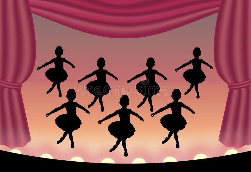 2 balet ilustracji