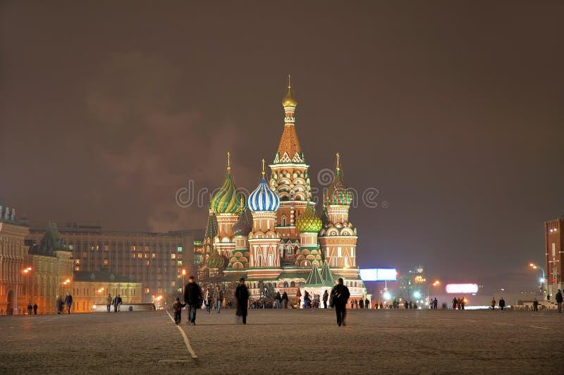 2 basil cathedral night st στοκ εικόνες με δικαίωμα ελεύθερης χρήσης